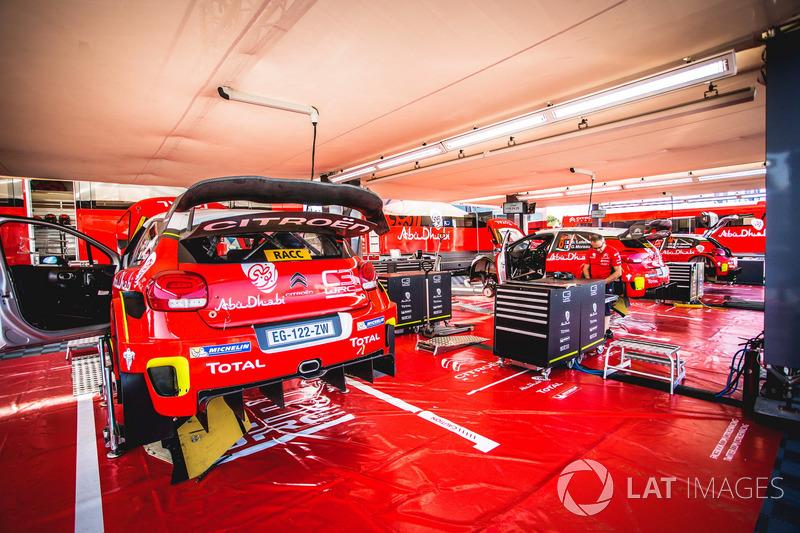 El coche de Kris Meeke, Paul Nagle, Citroën C3 WRC, Citroën World Rally Team