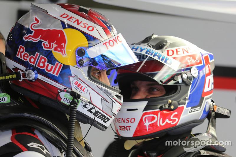 Sébastien Buemi, Nicolas Lapierre, Toyota Gazoo Racing