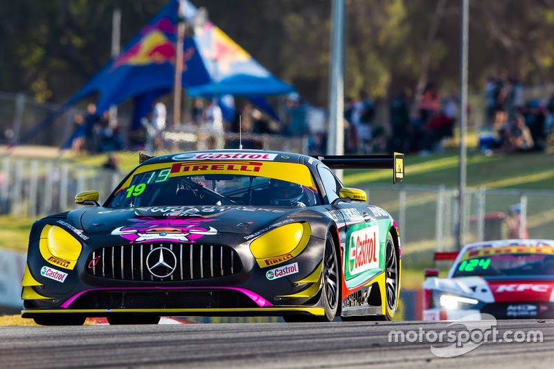 #19 Mercedes AMG GT3: Mark Griffith, Jake Camilleri