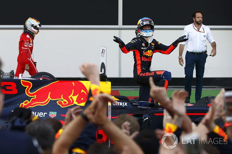 Azerbaycan GP: Daniel Ricciardo, Red Bull Racing RB13