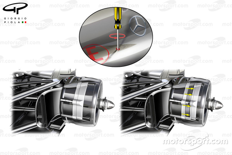 McLaren MP4-27: Hinterradbremse