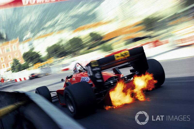 1985年モナコGP:ステファン・ヨハンソン(フェラーリ)