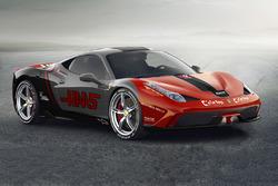 Ferrari 458 im Haas-Design