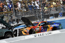 Matt Kenseth, Joe Gibbs Racing Toyota wreck