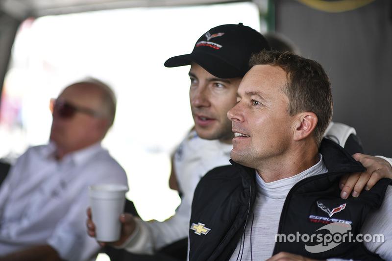 Mike Rockenfeller, Marcel Fässler, Corvette Racing