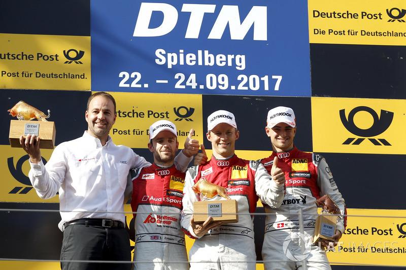 Тріо Audi у першій гонці здобуло подіум
