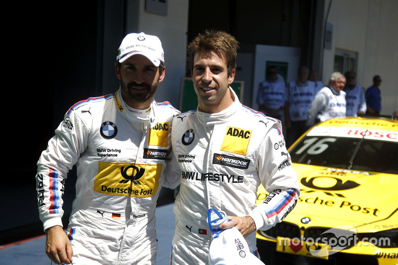Timo Glock, BMW Team RMG, BMW M4 DTM and António Félix da Costa, BMW Team Schnitzer, BMW M4 DTM