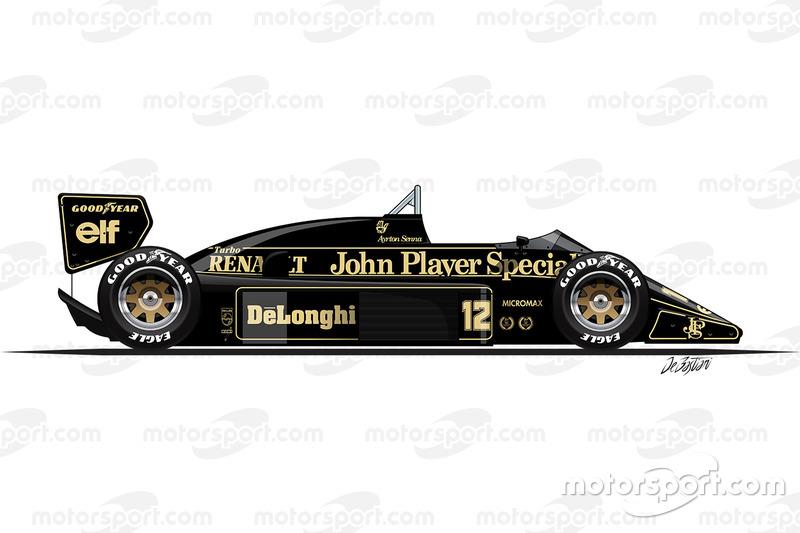 1986 - Lotus 98T