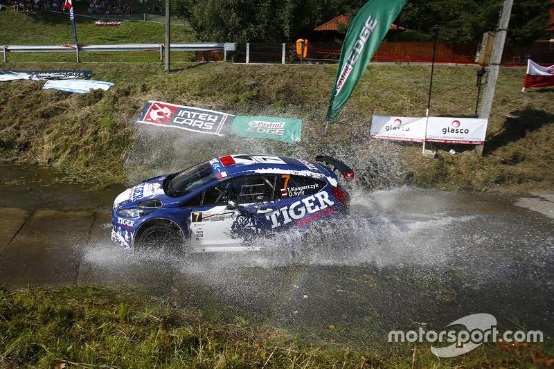 Tomasz Kasperczyk e Damian Syty, Ford Fiesta R5