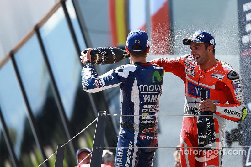 Sieger Andrea Iannone, Ducati Team; 3. Lorenzo, Yamaha Factory Racing