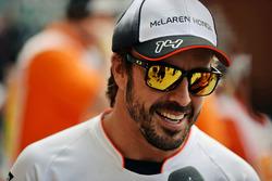 Парад пилотов: Фернандо Алонсо, McLaren