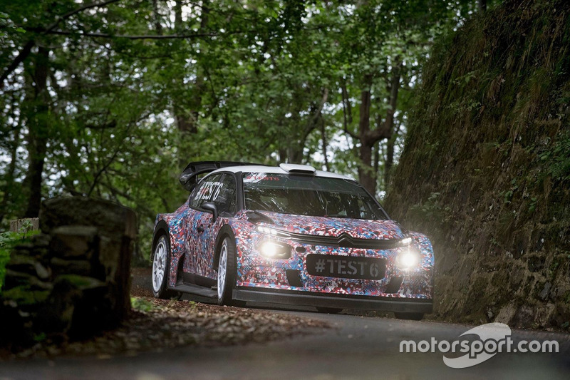 Крис Мик и Пол Нейгл, Крейг Брин и Скотт Мартин, Citroën World Rally Team, Citroën C3 WRC 2017