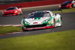 #49 AF Corse, Ferrari 458 Italia GT3: Garry Kondakov, Alex Moiseev, Riccardo Ragazzi