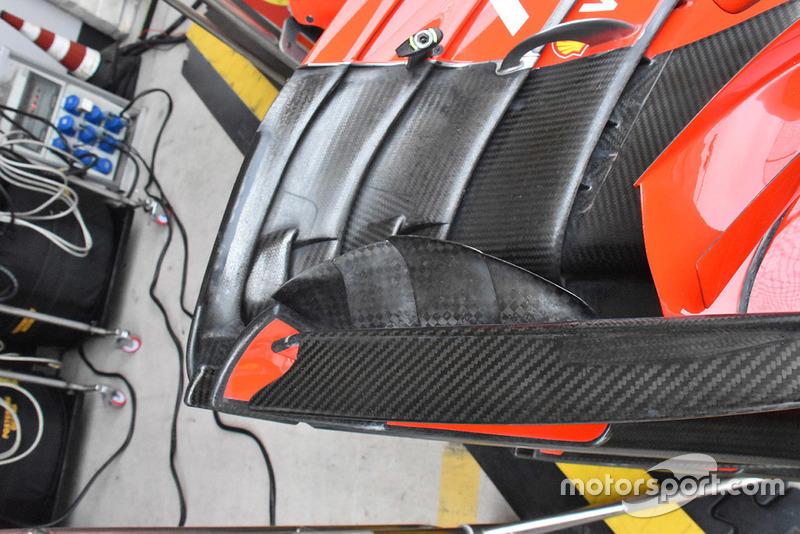Переднє антикрило Ferrari SF71H