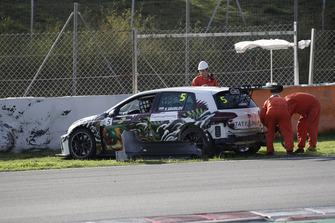 L'incidente di Klim Gavrilov, LTA Rally Volkswagen Golf GTI TCR