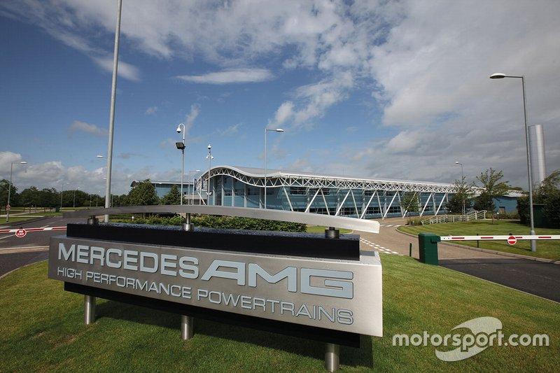 Engine Factory della Mercedes Brixworth