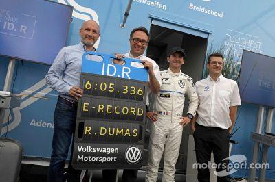 Volkswagen ID.R Nordschleife record