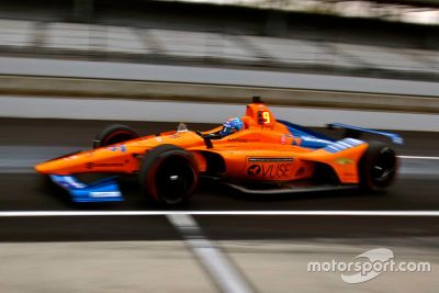 Indy 500 open test