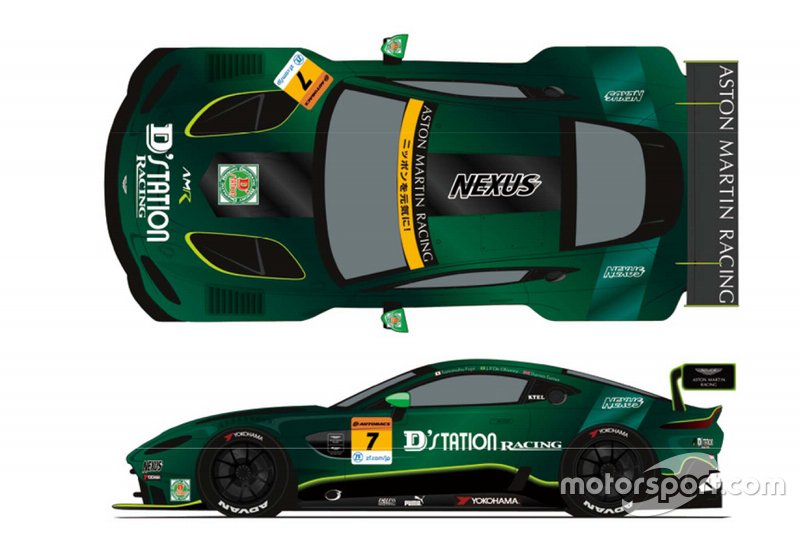 D'station Racing Launch