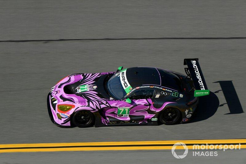 #71 P1 Motorsports Mercedes-AMG GT3: Maximilian Buhk, Fabian Schiller, Dominik Baumann, JC Perez