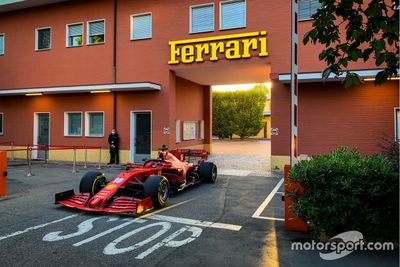 Leclerc Fiorano June testing