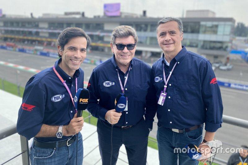 Comentaristas de TV de la F1