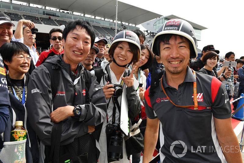 Уболівальники Haas F1. головний гоночний інженер Haas F1 Аяо Коматсу