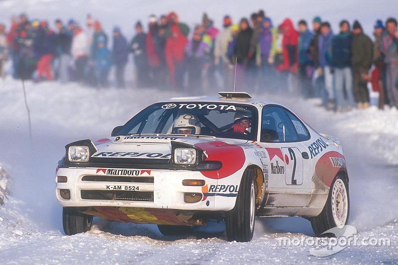 Carlos Sainz, Luis Moya, Toyota Celica Turbo 4WD