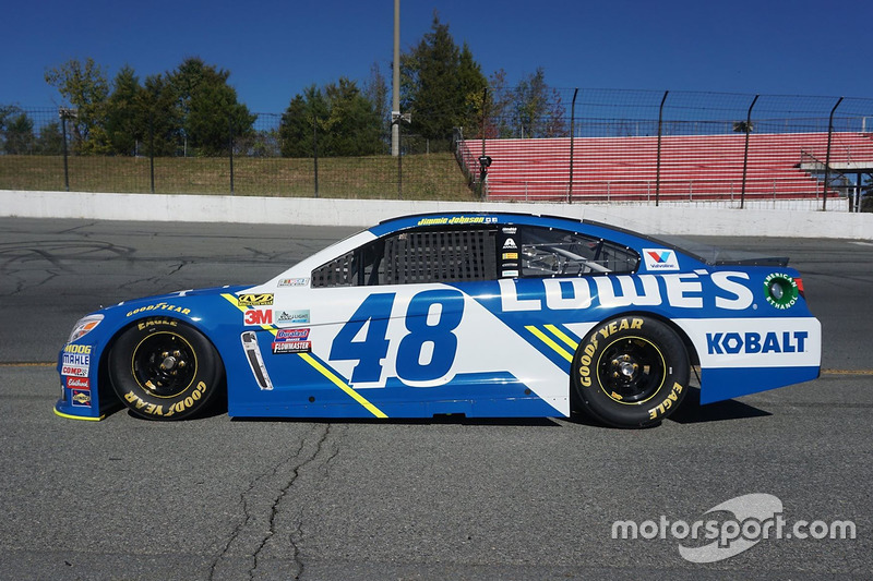 Jimmie Johnson, Hendrick Motorsports Chevrolet 2017 livery