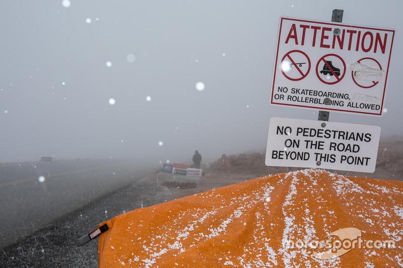 Hagel am Pikes Peak