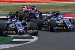 Pascal Wehrlein, Sauber C36, Marcus Ericsson, Sauber C36, Daniel Ricciardo, Red Bull Racing RB13