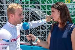 Felix Rosenqvist, Mahindra Racing, Katherine Legge