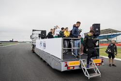 Desfile de pilotos