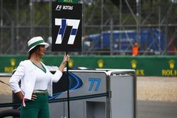 Грід-гьол Валттері Боттаса, Mercedes AMG F1