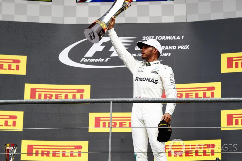 12. GP de Bélgica 2017: Lewis Hamilton (1º)