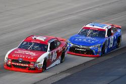 Ryan Reed, Roush Fenway Racing Ford and Matt Tifft, Joe Gibbs Racing Toyota