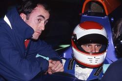 Roland Ratzenberger, Simtek S941, David Brabham