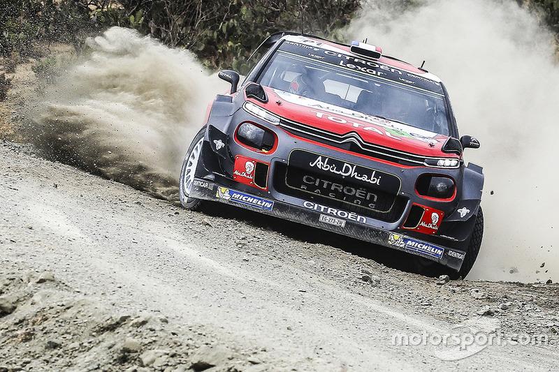 Стефан Лефевр, Габін Моро, Citroën C3 WRC, Citroën World Rally Team