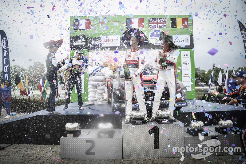 Ganadores, Kris Meeke, Paul Nagle, Citroën World Rally Team