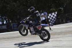 Un participant au Yamaha VR46 Master Camp