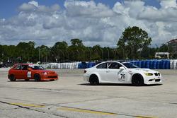 #76 MP1B BMW M3, James Hamman, H&H Racing, #109 MP4C Honda Civic, Sebastian Paniagua, AMR