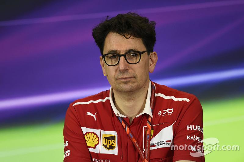 Mattia Binotto, Ferrari chief technical officer