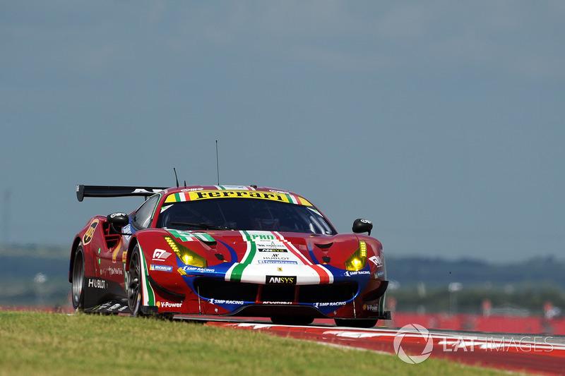 1. GTE-Pro: #51 AF Corse, Ferrari 488 GTE