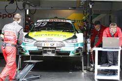 The car of Mike Rockenfeller, Audi Sport Team Phoenix, Audi RS 5 DTM