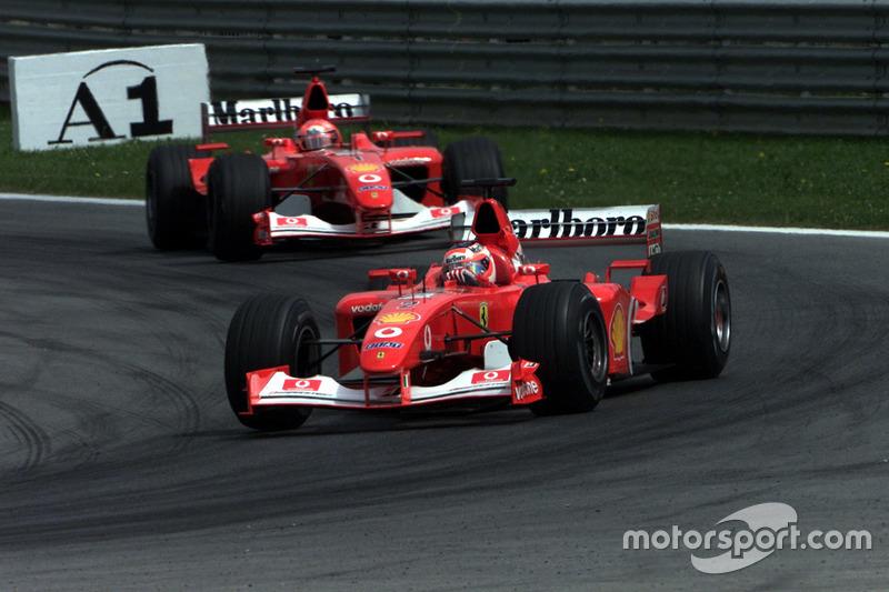 فيراري أف2002: 2002-2003