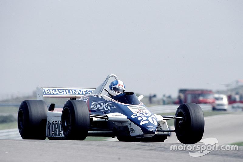 Chico Serra, Fittipaldi F8D Ford
