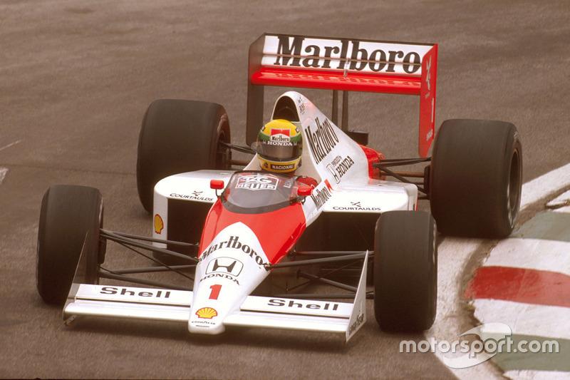 Senna também havia se envolvido em um acidente na largada do GP do Brasil de 1989, em colisão com Patrese e Berger.