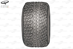 Bridgestone wet weather tyre
