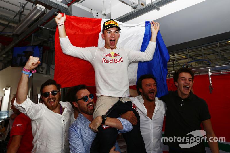 Il Campione Pierre Gasly, PREMA Racing