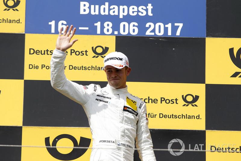 Подіум:  переможець гнкиПол ді Рестаa, Mercedes-AMG Team HWA, Mercedes-AMG C63 DTM